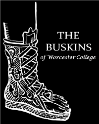 The Buskins of Worcester College